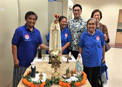 Speaking Presentation & Holy Relic Presentation, 11/19/2016: Mary Star of the Sea Church, Kahala (Guadalupe House) Tags: mary saints blesseds relic publicveneration reliquaries pilgrimvisitation