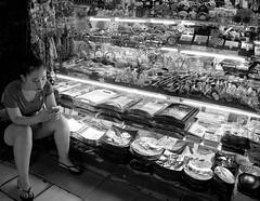 Market Stall in Vietnam (annemcgr) Tags: market stall vietnam blakwhite monochrome fineartphotography annemcgrath
