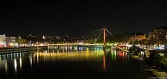 Lyon - By Night (Maestr!0_0!) Tags: nuit night pose longue lyon lumiere ville city pont bridge colors fuji xpro