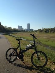 Osage_009 (gouldie) Tags: osageprairietrail tulsa sperry skiatook oklahoma bicycle foldingbike fuji fujiorigami