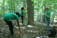 Young Naturalists Measuring Distance (pghparks) Tags: alb storymap