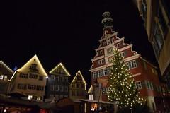 Weihnachtsmarkt Esslingen (chrissie.007) Tags: 20161127 deutschland badenwrttemberg esslingen weihnachtsmarkt mittelaltermarkt rathaus