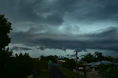 November storms 2016 Bundaberg (Images by Jeff - from the sea) Tags: nikon d7200 dusk twilight trees clouds tamronsp2470mmf28divcusd storm sky hail