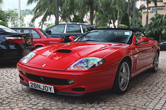 Ferrari, 550 Barchetta, Tuen Mun, Hong Kong (Daryl Chapman Photography) Tags: 2bnjoy ferrari italian goldcoast 1d mkiv car cars auto autos automobile canon eos ii f28 road engine power nice wheels rims hongkong china sar drive drivers driving fast grip photoshop cs6 windows darylchapman automotive photography hk hkg bhp horsepower brakes gas fuel petrol topgear headlights worldcars daryl chapman darylchapmanphotography 2470mm