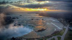 Morning Vista - Niagara Falls (KWPashuk) Tags: samsung galaxy note5 lightroom nikcollection kwpashuk kevinpashuk vista niagarafalls river niagara sunrise clouds landscape canadian canada ontario