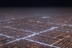 Riyadh diagonal (dlorenz69) Tags: sand air luft flug flight berflug over above riyadh riad saudi arabia arabien wste stadt city desert night nacht nachtflug aerial luftbild view lichter lights