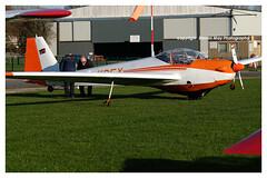 G-KDEY SF-25E SuperFalke (SPRedSteve) Tags: gkdey sf25 sf25e superfalke falke motorglider aircraft airplane shobdon dkdey