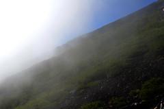 Mist Rolling In (pokoroto) Tags: mist rolling in mount fuji  fujisan yamanashi prefecture   japan 8   hachigatsu hazuki leafmonth 2016 28 summer august