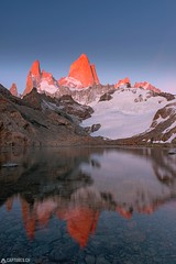 Alpenglow - El Chalten (Captures.ch) Tags: 2016 alpenglow argentina black blue brown bushes captures december elchalten fitzroy glacier gray ice laguna lagunadelostres lake landscape morning mountains nature orange red sky snow southamerica stones travel trees water white yellow brilliant