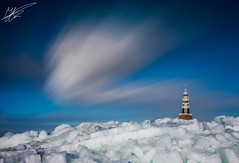 Ice Lapse (Jurjen Harmsma Photography) Tags: blue winter sky mountains ice church netherlands colors architecture clouds landscapes movement exposure nederland cities vivid icy friesland lapse steden fryslan icemountains airscapes jurjenharmsma