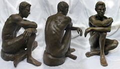 Shawn (R. O. Flinn) Tags: original statue originalart cotta sculpturemalenudeseatedterra
