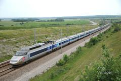 2013. TGV Sud-Est 72 en 86 te Calais-Fréthun