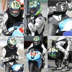 racing (12) (anjaschmidt1982) Tags: girls woman car leather female race women helmet racing gloves kart biker rider visor motocycle nomex