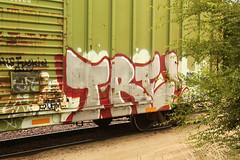 TRE (The Braindead) Tags: art minnesota train bench photography graffiti painted tracks minneapolis rail explore beyond the