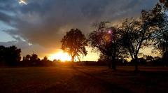 Sunset (blokkadeleider) Tags: sunset cloud netherlands clouds zonsondergang sonnenuntergang nederland wolke wolken overijssel niederlande wolk
