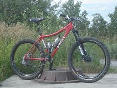 Surly Instigator (SaddleUpBike) Tags: park canada up bike cop olympic surly saddle instigator