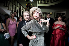 Morgana Robinson as Marilyn in C4's The Morgana Show