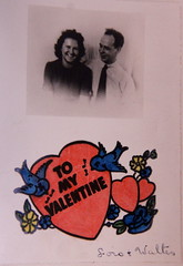 Valentine's card from Mom and Dad (lreed76) Tags: valentinescard walterandlois