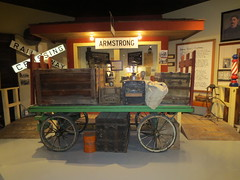 Pardon me, boy... (jamica1) Tags: canada museum bc okanagan columbia british cart baggage armstrong artifacts