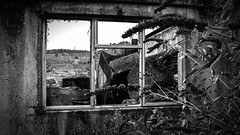 Window with a view (Derbyshire Photography) Tags: urban window decay derbyshire urbandecay nobody where goes ruraldecay windowwithaview