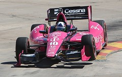 Dario Franchitti a few lapses before the big wreck (Bill Jacomet) Tags: car texas houston indy grand center before racing prix dario indycar reliant lapses 2013 of frachitti wrerck