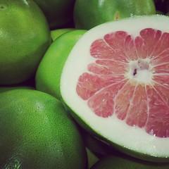 11/1/13 Mystery Fruit (Karol A Olson) Tags: green mystery fruit citrus nov13 iphone harristeeter project3652013 fmsphotoaday