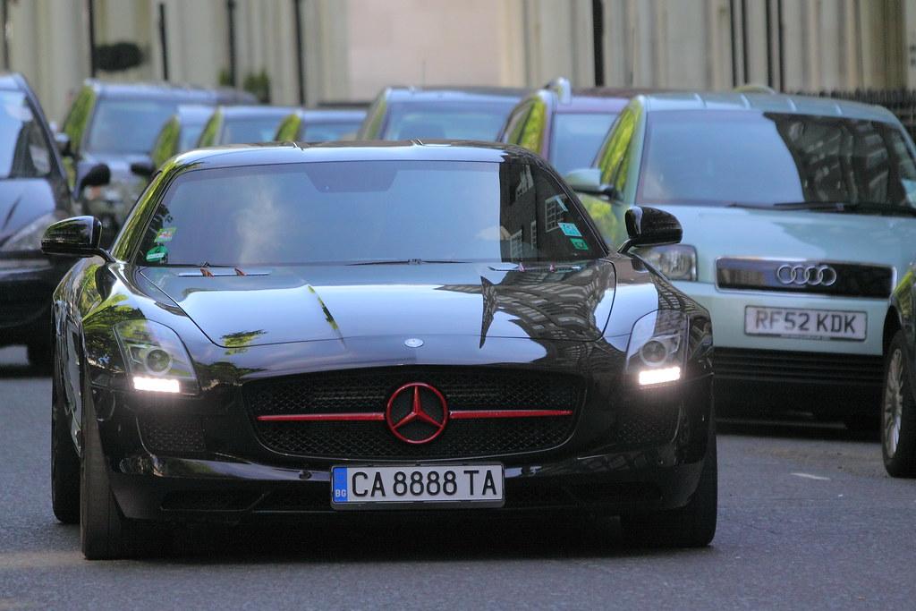 Mercedes SLS (Ian Press Photography) Tags: london cars car mercedes benz  transport super