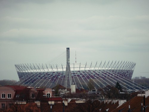 Nouveau stade, Varsovie, Pologne