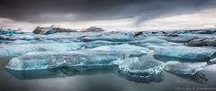Somewhere In Iceland (Kristinn R.) Tags: sky ice clouds iceland nikon lagoon jökulsárlón d3x nikonphotography breiðamerkursandur kristinnr