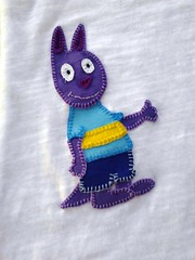 Backyardigans em patchaplique! (Cantinho do Patch by Talissa) Tags: austin patchwork camiseta blusa backyardigans patchaplique