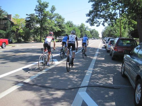 Photo - Buffered Bike Lane University