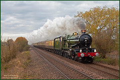 Main Line Steam (Resilient741) Tags: castle train br carriage engine loco class steam mount kettle teapot earl charter eme edgcumbe mk1 hauled 5043 1z50