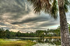 Lakeside (grandalloliver) Tags: world park camping sunset summer sun reflection tree beauty clouds photoshop canon landscape flora october raw day florida cloudy wideangle palm tiff hdr topaz photoshopelements floridastatepark hss photomatix canonefs1755mmf28usm garyoliver southwaltoncounty hwy30a rebelxsi canonxsi topazadjust grandalloliver grandalloliverphoto topsailhillstateparkflorida