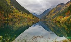 edIMG_64431x (ssndct) Tags: china mountain lake snow water jiuzhaigou emerald huanglong