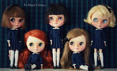 A Doll A Day. Dec 1. St Mary's Girls.