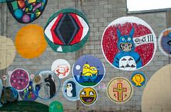 Circle's of Art (Jocey K) Tags: new christchurch streetart colour building art painting mural zealand nz newbrighton