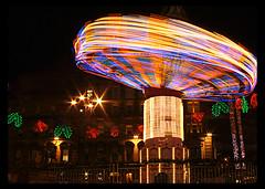 IMG_0983 (Joe mulgrew) Tags: santa christmas xmas light party color colour lights glasgow georgesquare carousel fair noel swing christmaslights