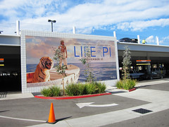 Entertainment, Life of Pi at Rave Baldwin Hills, Stretched Banner