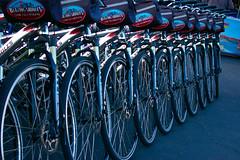 Bicycles Pier 39 (AngelBeil) Tags: california bridge golden bay pier gate san francisco wharf locks alcatraz 39 the