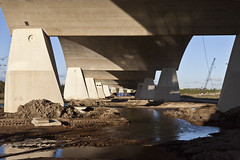De oversteek Waal Nijmegen (tuveleyn) Tags: bridge nijmegen brug waal deoversteek
