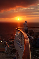 Warm sunset (Andy Coe) Tags: cruise b