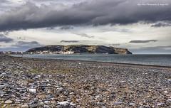 Llandudno sea-front (Glyn Owen Photography & Image-Art) Tags: sea irish wales clouds north pebbles emerald llandudno orme