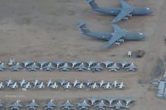 AMARG 09-01-2014 15 (eLaReF) Tags: graveyard airplane desert tucson az aeroplane storage scrapyard davis scrapping scrap derelict dm boneyard davismonthan amarc monthan kdma overflight amarg 309th