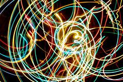 Neon swirl (quinet) Tags: light canada vancouver britishcolumbia swirl cameratoss