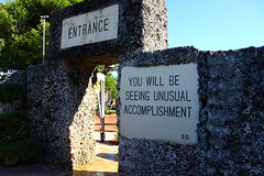 You Will Be Seeing Unusual Accomplishment (UmbralX) Tags: florida homestead coralcastle edleedskalnin