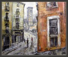 MANRESA-PINTURA-SEU-BARRI ANTIC-PAISATGES-CATALUNYA-BARCELONA-ART-HISTORIA-RECONS-QUADRES-ART-PINTOR-ERNEST DESCALS (Ernest Descals) Tags: pictures barcelona street city urban espaa paisajes art work landscape trabajo site spain artwork artist cityscape arte kunst paintings cities paisaje catalonia peinture seu lugares artistas rincones painter catalunya historia painters pintor calles pintura pintores pintar cuadros artistes pinturas ciutat bages manresa paisatge pintures historics paisajeurbano paisatges quadres malerei pintando katalonien catalogne ciutats catalans pobles paisajesurbanos juzgados recons catalanes pintant barrivell pintors jutjats paisatgeurb pintorescatalanes pintorscatalans poblecatal menyspreus terball