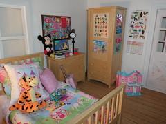Littlefee Bedroom (Princess Stitch) Tags: bedroom box room 16 diorama playscale littlefee