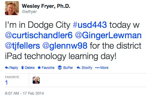 Dodge City iPad Technology Learning Day by Wesley Fryer, on Flickr
