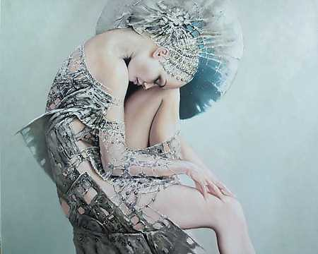 Image result for Karol Bak art bird lady