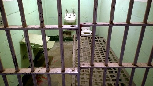 Alcatraz cell by Ruth and Dave, on Flickr